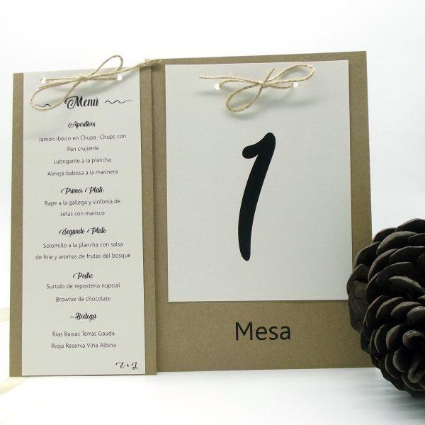Minutas y Meseros personalizados Coruña